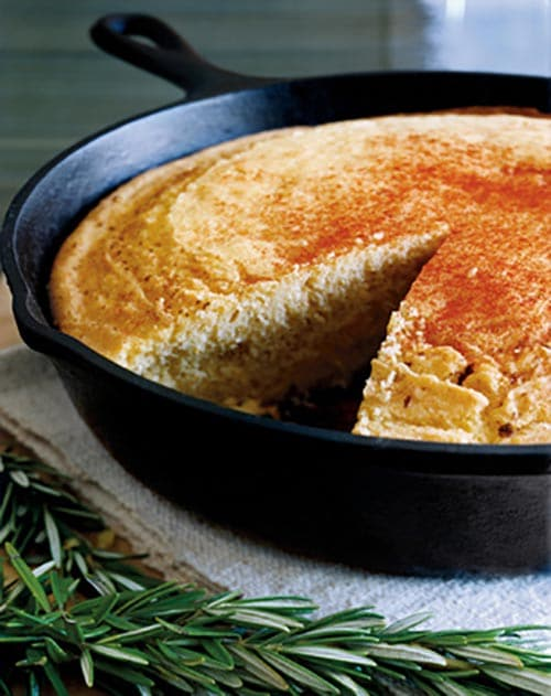 Easy Dutch Oven Cornbread | Camping Recipe