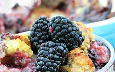 Mixed Berry Granola Cobbler Recipe