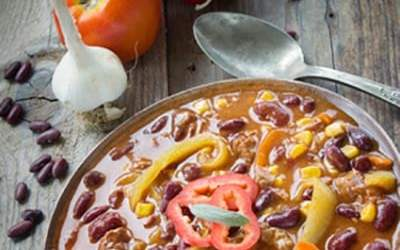 black bean chocolate chicken chili