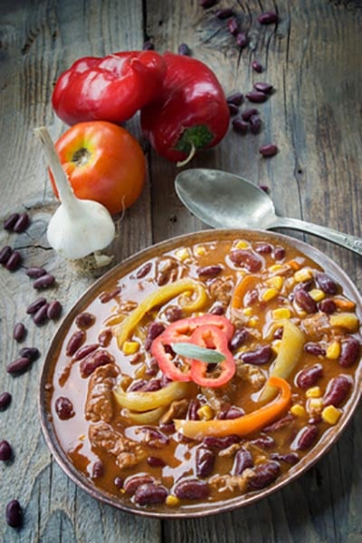 Black Bean Chocolate Chicken Chili – Mole Chili