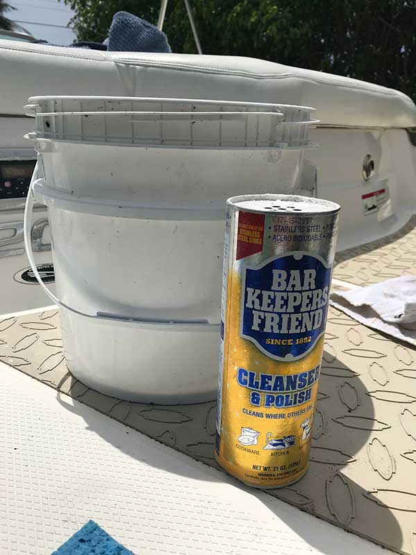 How to clean a boat hull the easy way supplies