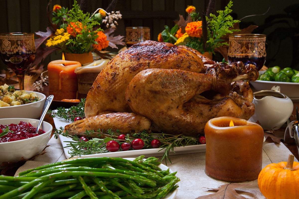 Stress-free Thanksgiving Dinner Recipes via @mermaidsandmojitos