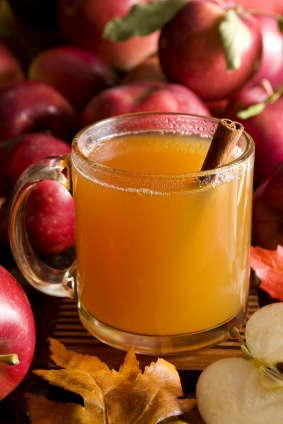 Rum Spiked Mulled Apple Cider