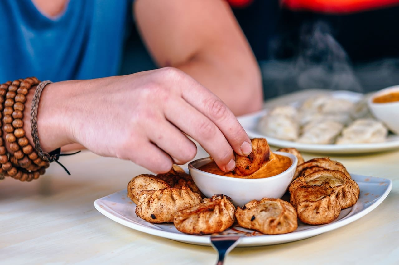 Buffalo Chicken Beggars Purse Recipe via @mermaidsandmojitos