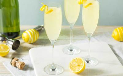 French 75 | Classic Champagne Cocktail