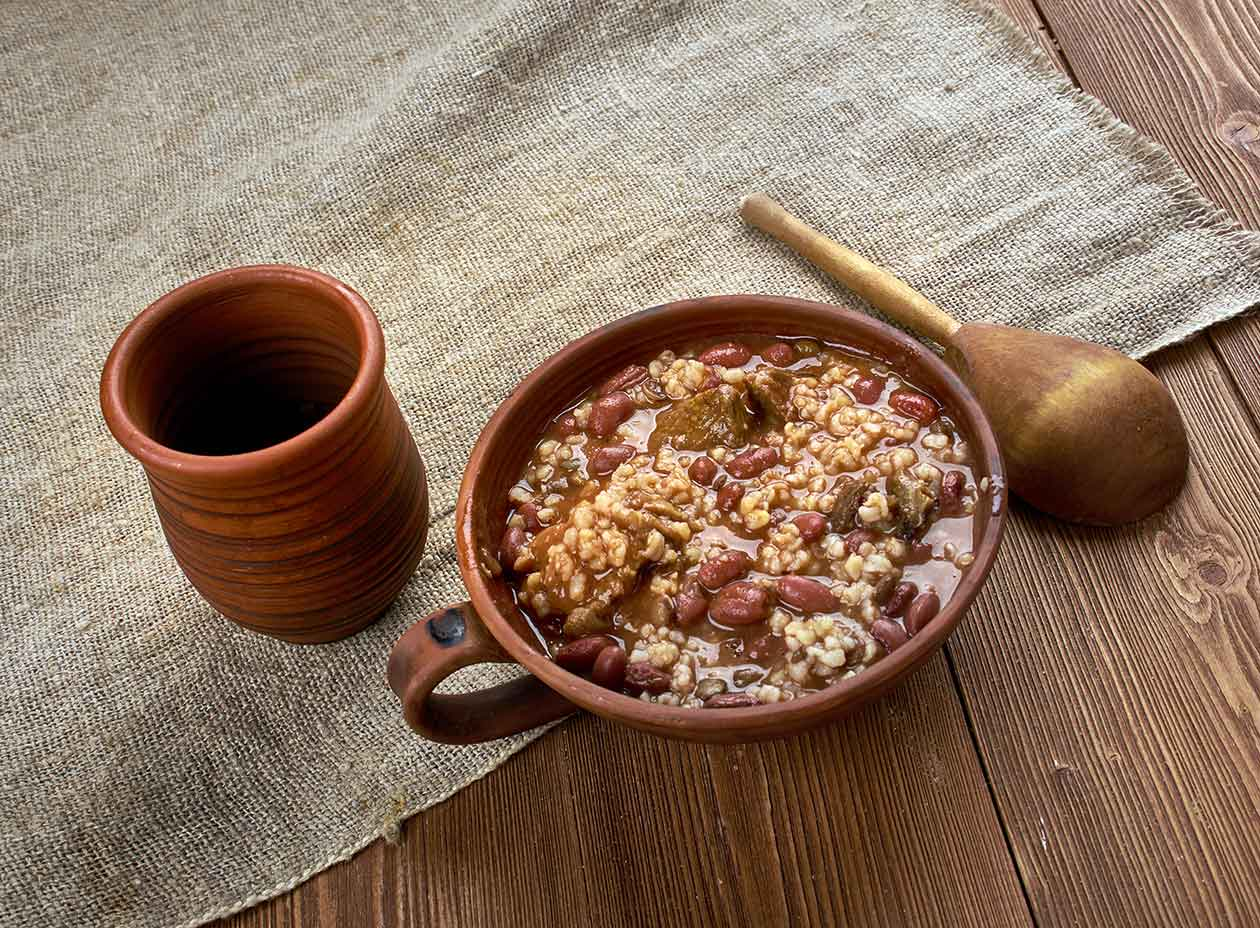 New Orleans Red Beans and Rice with Tasso via @mermaidsandmojitos