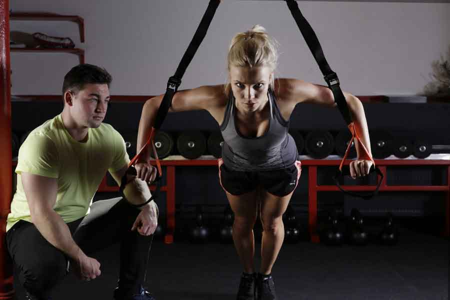 Book a personal trainer or take a boutique fitness class
