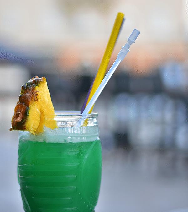 Tipsy Mermaid Rum Punch Cocktail