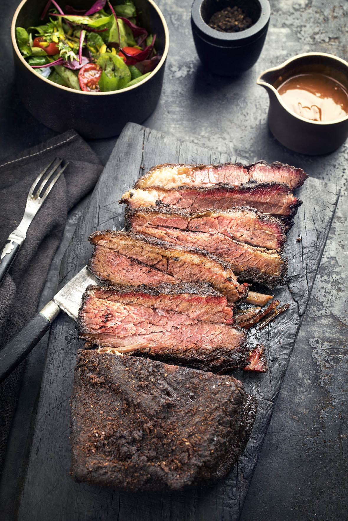 Cajun Slow Cooked Brisket via @mermaidsandmojitos