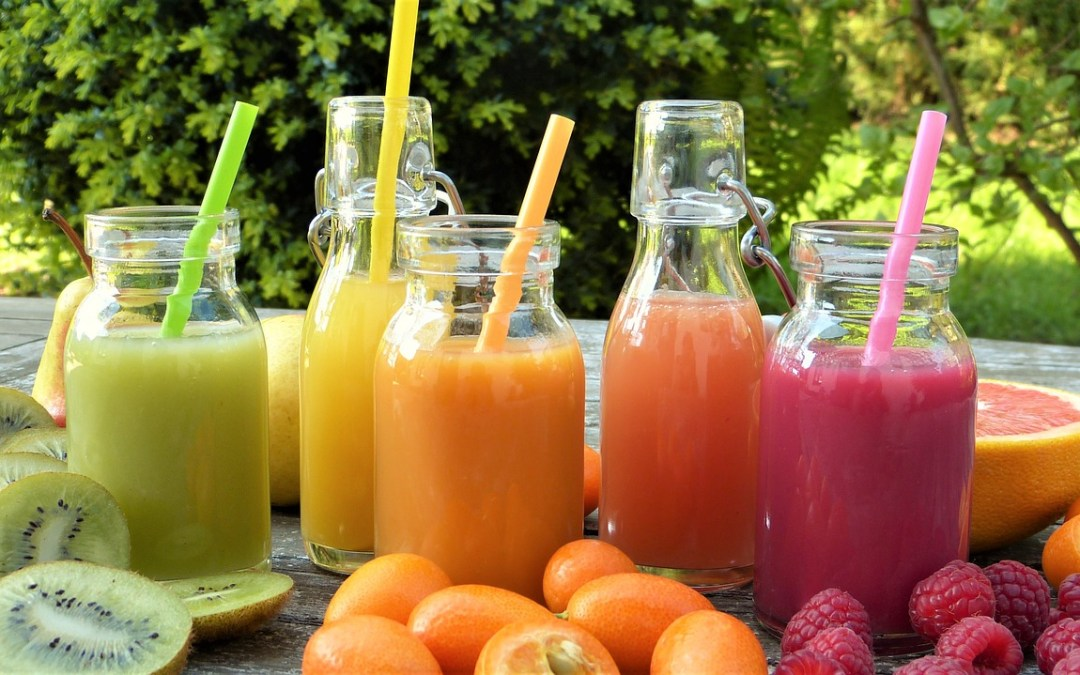 Create a Juice Bar for a Special Brunch