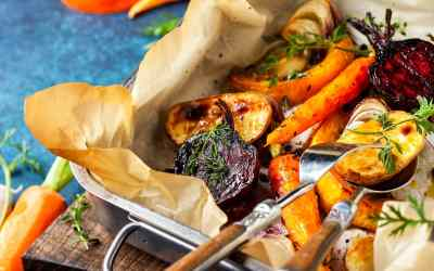 Pan Roasted Root vegetables