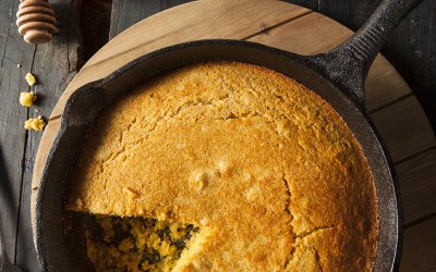 Spinach, Bacon and Cheddar Cornbread