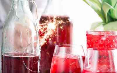 Strawberry Rosemary Frose | Rose Slushy