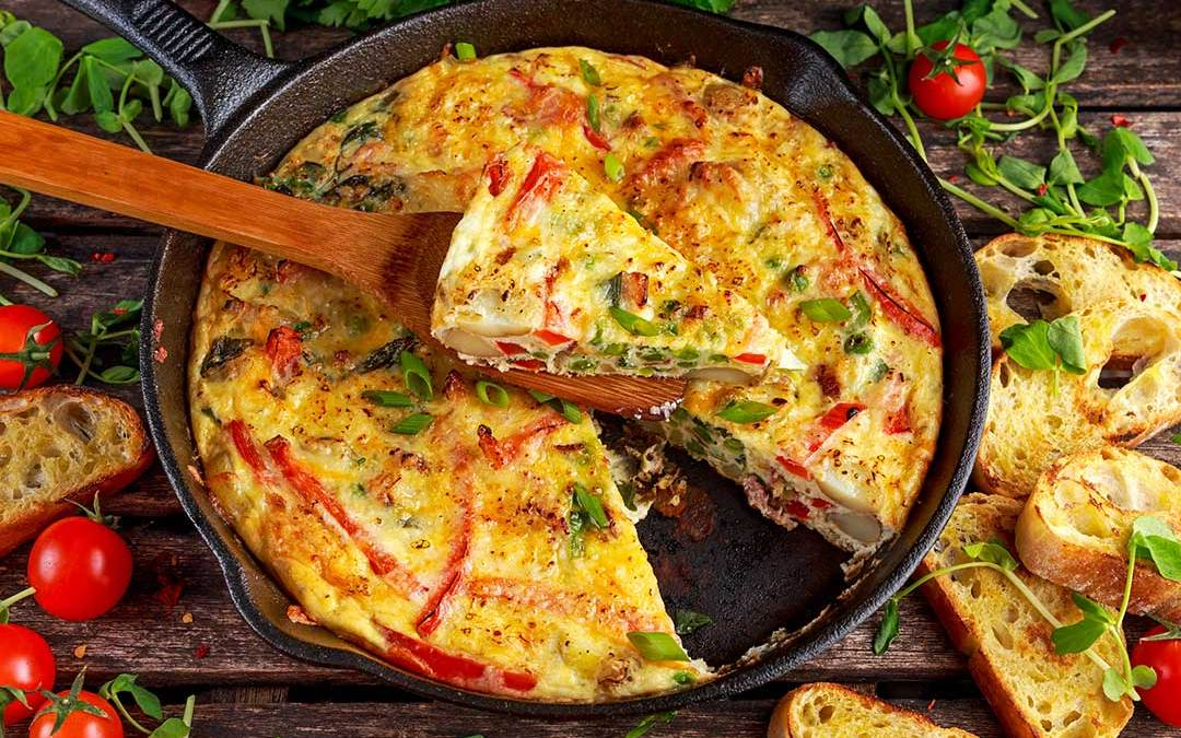 Tortilla de Patata or Spanish Tortilla