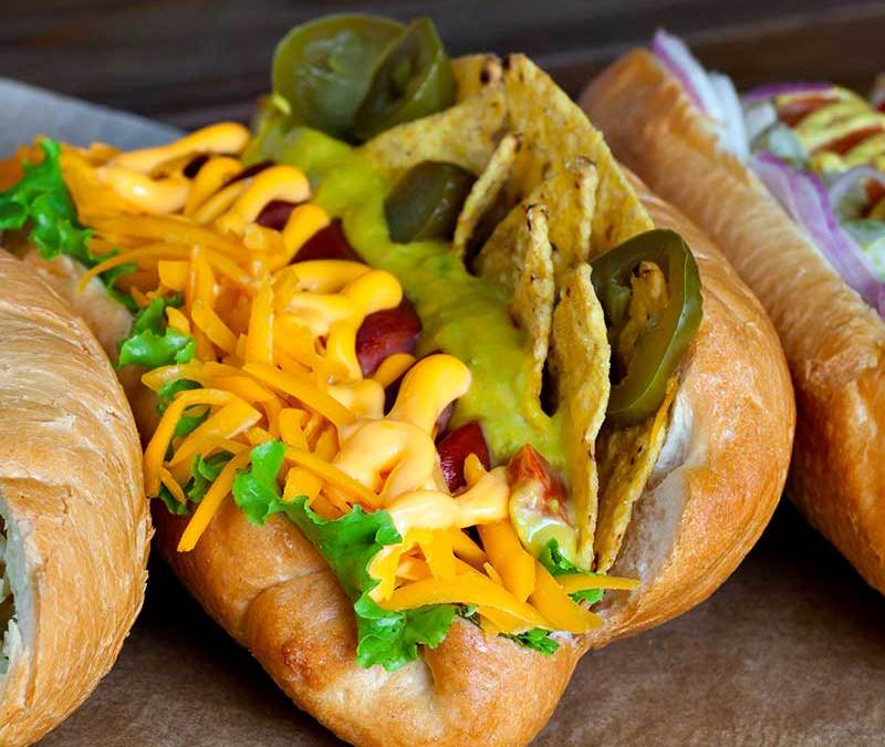 Taco Nacho Cheese Hot Dog