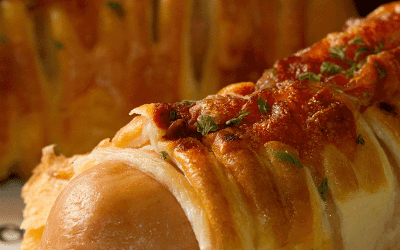 Spicy Italian Calzone Pizza Hot Dog