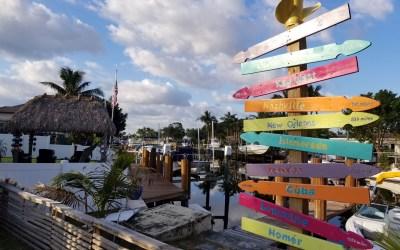 Easy DIY Picket Fence Coastal Directional Sign