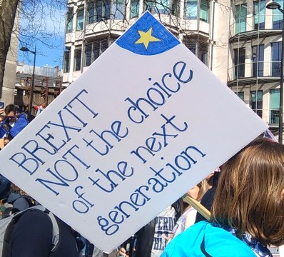 BREXIT NOT the choice of the next generation