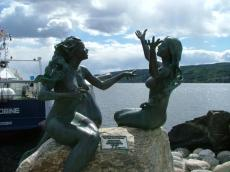 Drøbak Mermaid Sculptures