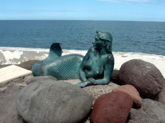 "The mermaid ""Sirena De Boca"""