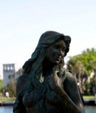 Ama Mermaid Statue