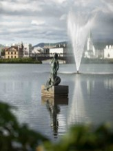 Iceland's Hafmeyjan (Mermaid) Statue