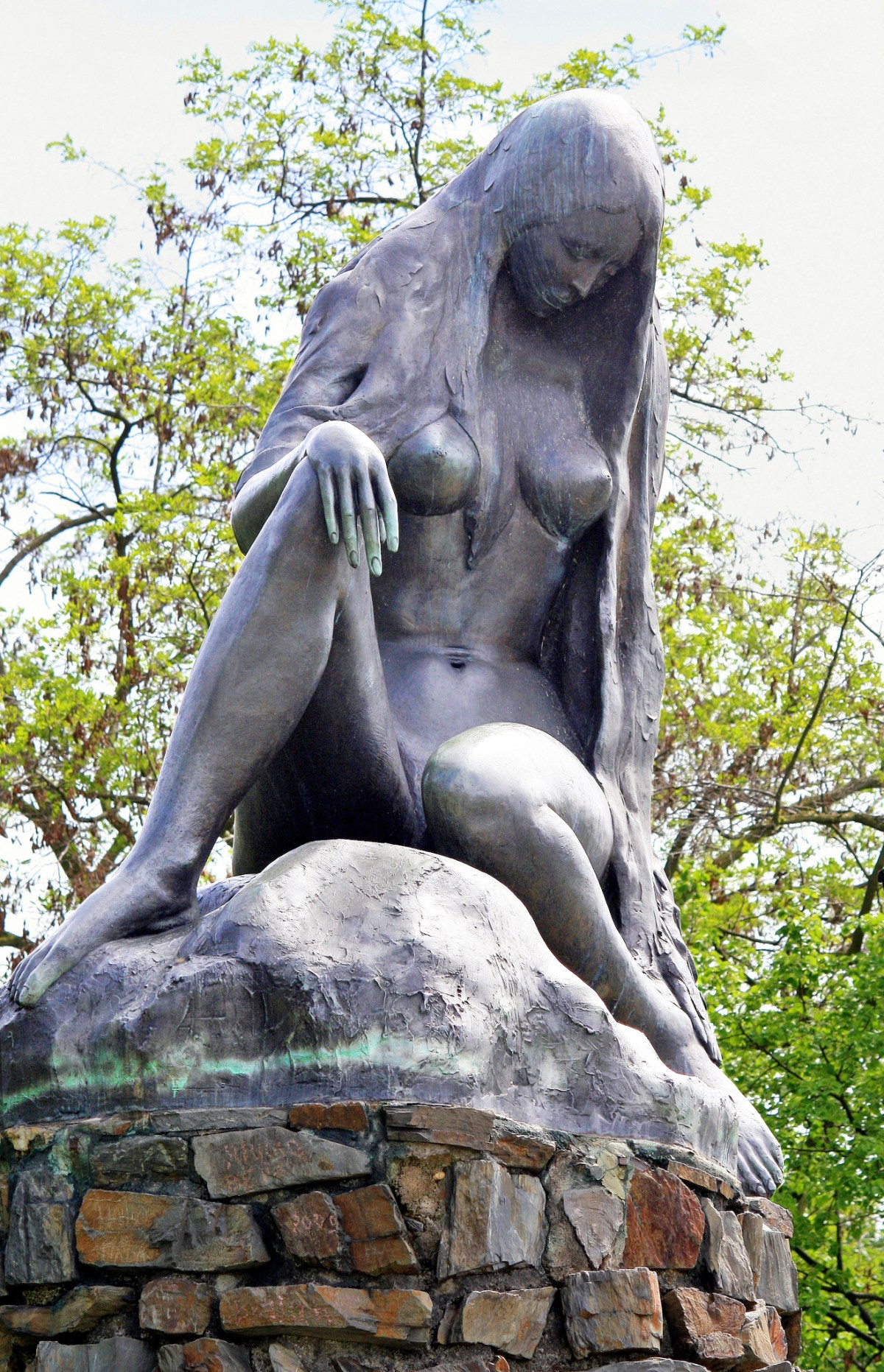 Lorelei Statue.  Photo by Bruce Greig