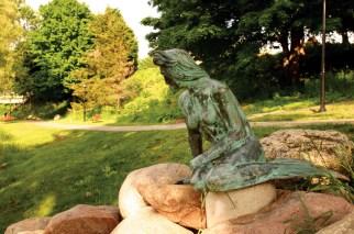 Greenville's Little Mermaid Statue