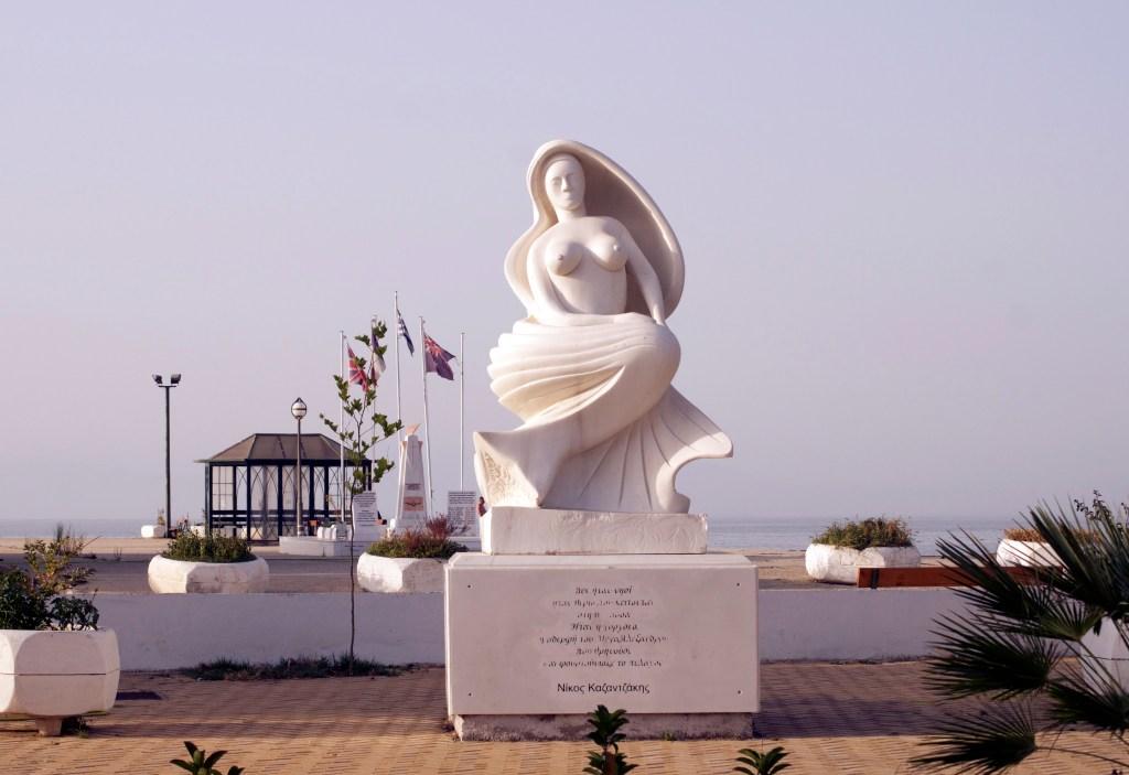 Mermaid Thessalonike on Thasos