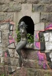 The Užupis Mermaid in Vilnius, Lithuania
