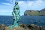 Mermaid (Seal Wife) on Faroe Islands
