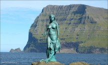 Mermaid (Seal Wife) on Faroe Islands
