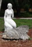 Weeki Wachee Park Mermaid Sculpture.