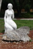 Weeki Wachee Park Mermaid Sculpture.