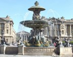 Fontaine Place de la Concorde, with mermaid statues.