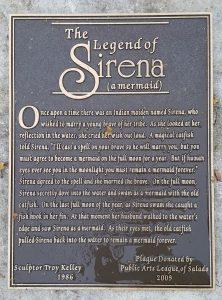Sirena plaque