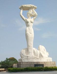 Nuwa Mermaid Goddess of Shenzhen