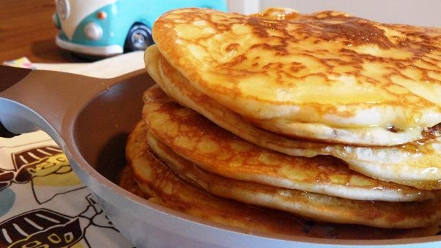 Pancakes de mi Madre.