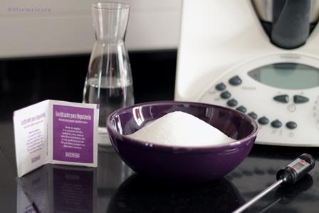 Lo que necesitaremos para elaborar azúcar invertido.