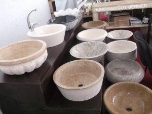 mermer çanak çeşitleri em-049 ölçüleri : fiyatı :