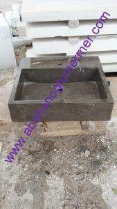 mermer lavabo çeşitleri em-075 ölçüleri : 45x55z15 cm fiyatı : 1250 tl