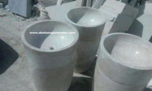mermer evye çanak lavabo çeşitleri em-093 ölçüleri : 42x30x90 cm fiyatı : 2350 tl