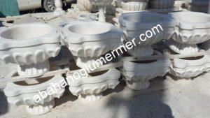 işlemeli mermer kurnalar ku-31 ölçüleri : 45x55x35 cm fiyatı : 1500 tl