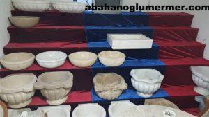 doğal taş lavabolar