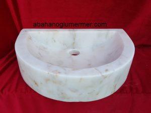 doğal taş lavabo