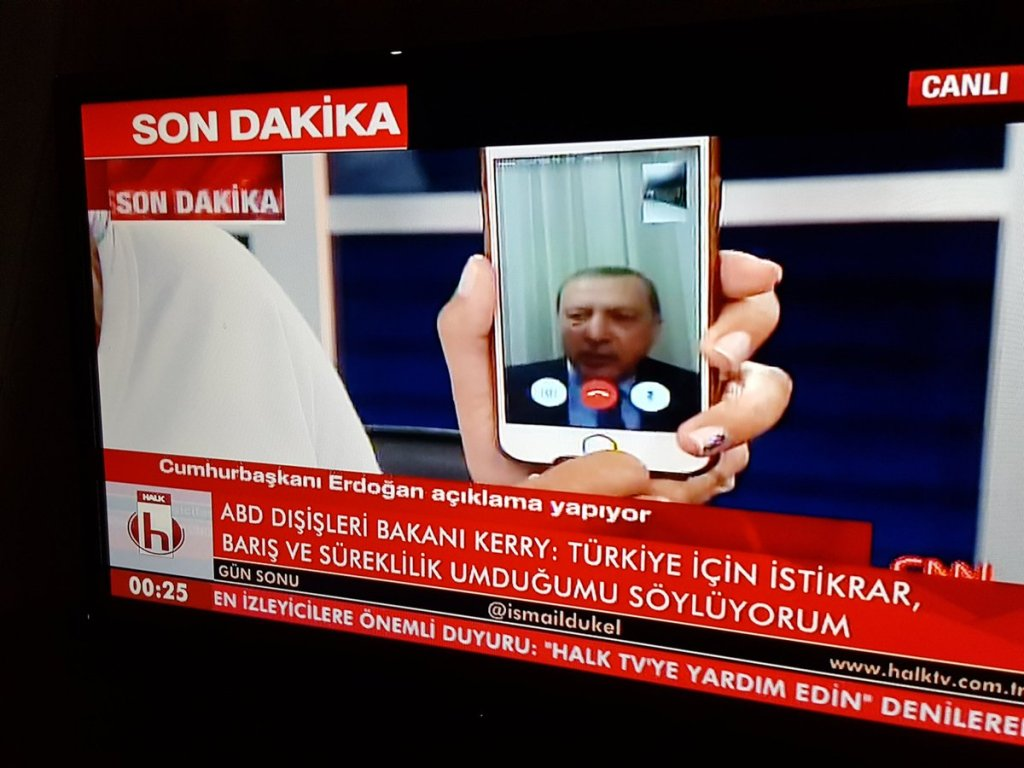 turkey coup social media