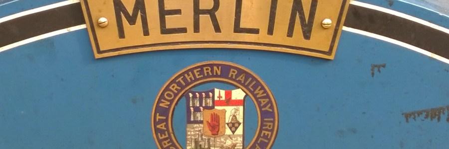 Merlin Steam Locomotive in Bangor