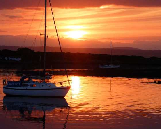 Glorious Sunset over Groomsport