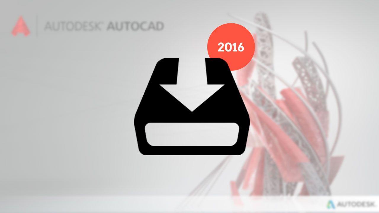 Descargar autocad 2016