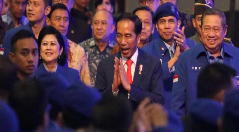 Presiden Joko Widodo Hadiri Rapimnas Partai Demokrat
